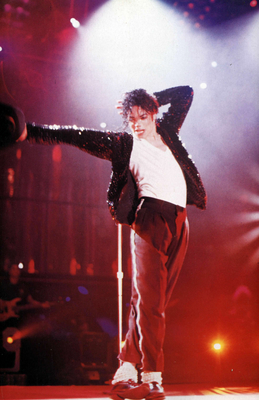 "A Live Performance Of ""Billie Jean"""