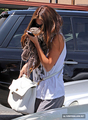 ARRIVING AT A DANCE STUDIO IN LOS ANGELES - MAY 15 - selena-gomez photo