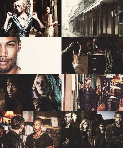 AU Bonnie and Caroline join the New Orleans adventures. - the-originals-tv-show Fan Art