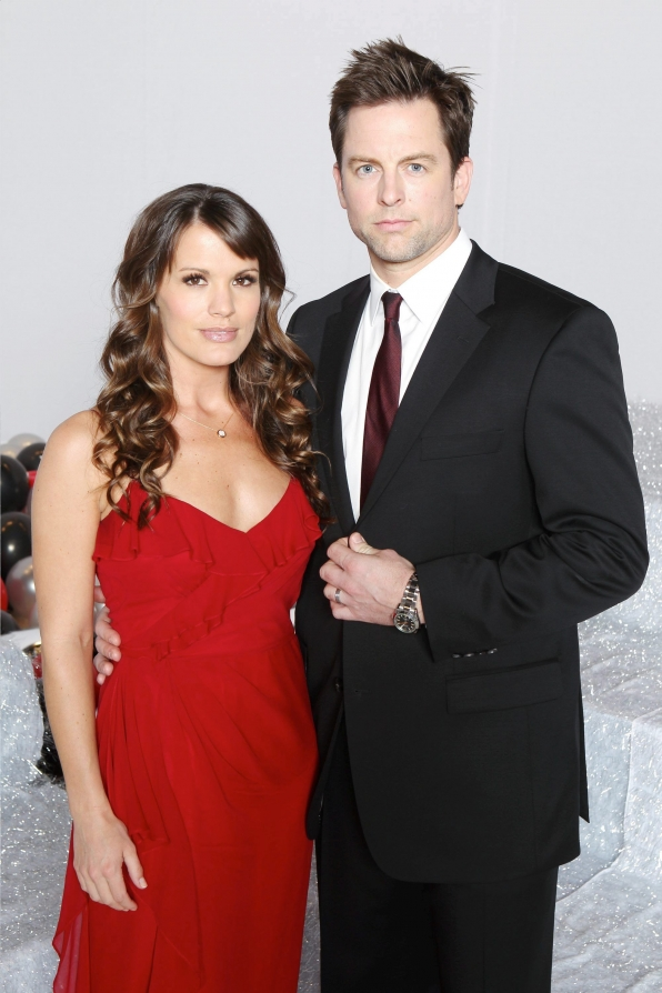 Michael Muhney and Melissa Claire Egan