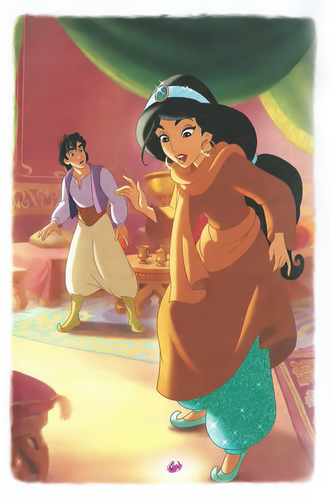 Aladdin and melati, jasmine