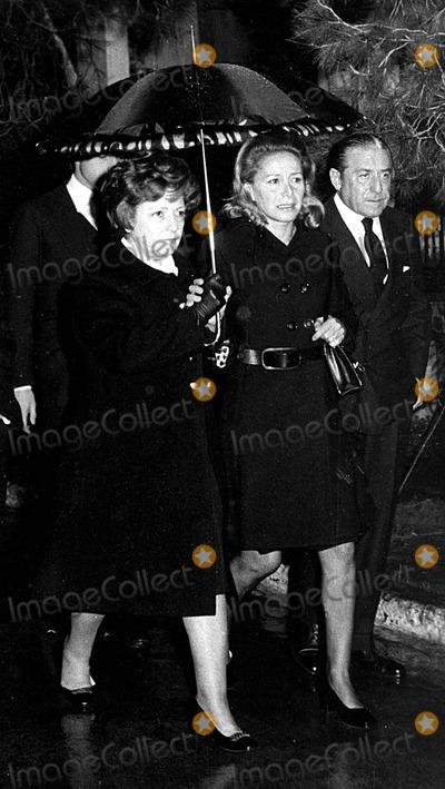 Alexander Onassis' Funeral 1973