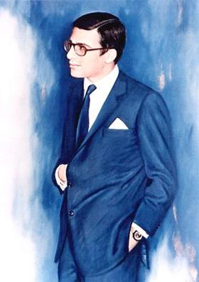 Alexander S. Onassis (painting bởi Michalis Vafiadis)