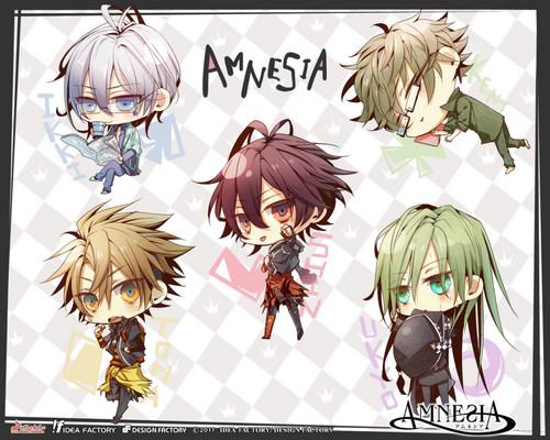Amnesia ~ Game
