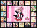 Amu and her friends collage - shugo-chara photo