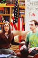 Amy & Sheldon  - the-big-bang-theory photo