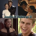 Anakin and Padmé <3 - star-wars-attack-of-the-clones fan art