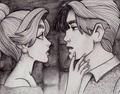 Anastasia and Dimitri - childhood-animated-movie-heroines fan art