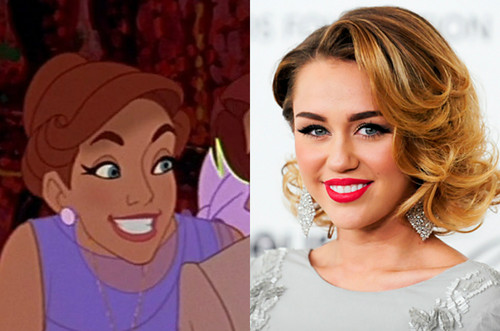 Anastasia's Celebrity Look Alike