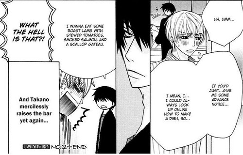 And Takano mercilessly raises the bar yet again...