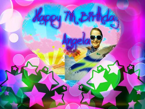 Angelabday card