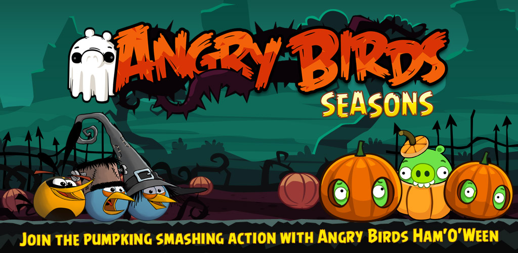 angry birds hallowen