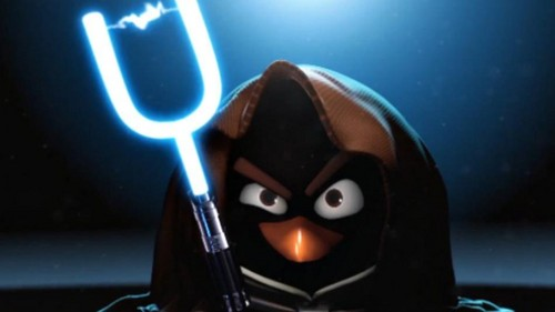 Angry Birds stella, star Wars