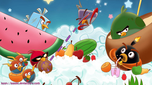 Angry Birds wallpaper titled Angry Birds