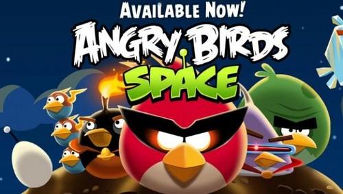 Angry Birds luar angkasa