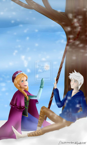 Anna and Jack Frost
