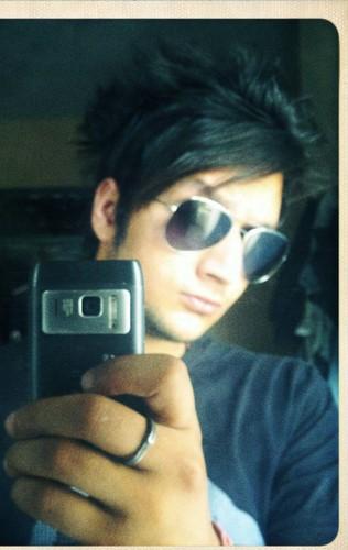 Emo Boys wallpaper containing sunglasses called Ansh