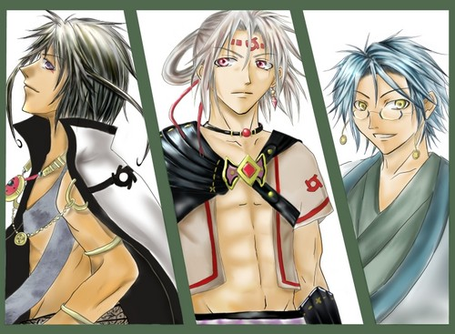 Kugura, Kannagi and Hiruko