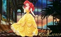 Ariel in Belle's redesign