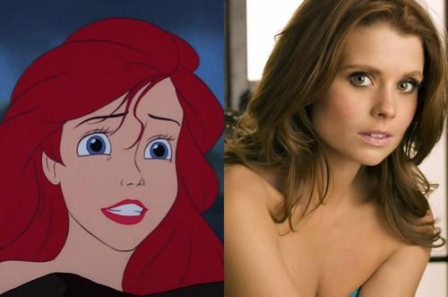 Ariel's Celebrity Look Alike