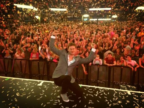 At Capital FM Arena Nottingham May 9th 2013