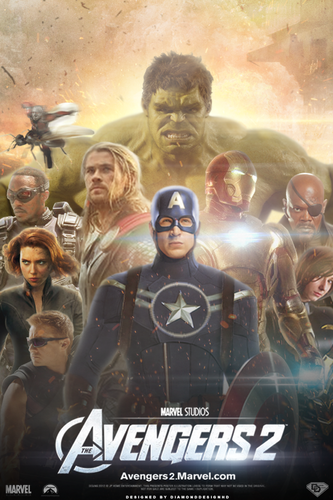 Avengers 2 (FAN-MADE) Poster