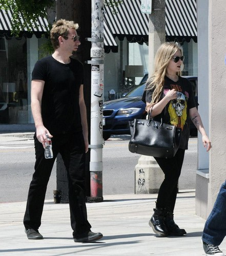 Avril Lavigne & Chad Kroeger ~ West Hollywood