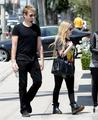 Avril Lavigne & Chad Kroeger ~ West Hollywood - avril-lavigne photo