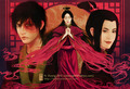 Azula Zuko and Ursa - avatar-the-last-airbender photo