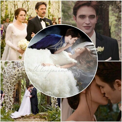 Edward and Bella's wedding