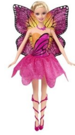 Barbie Mariposa and the Fairy Princess new doll (Mariposa with small wings)