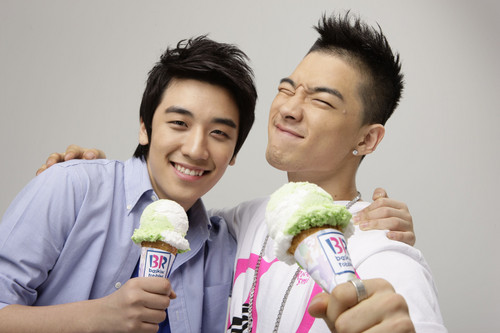 Baskin Robbins Photoshoot (2008)
