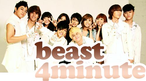 Beast & 4Minute