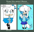 Before and After meme! XD - sonic-fan-characters photo