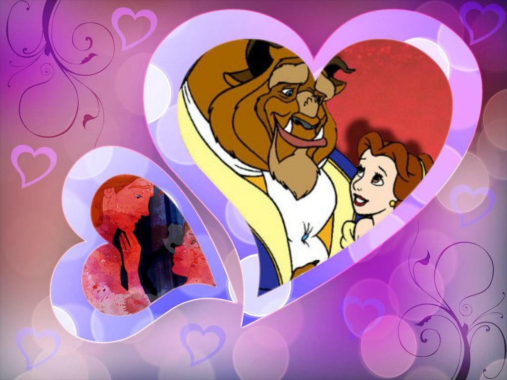 Wonderful Wallpaper Disney Valentines - Belle-And-Adam-disney-princess-valentines-day-34471589-1024-768  Gallery_625220 .jpg