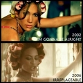 Beyonce copies Jennifer Lopez (I'm gonna be alright VS Irreplaceable) - music-videos fan art