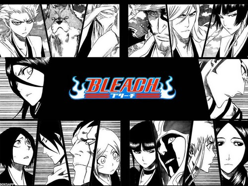 Bleach Manga wallpaper possibly with a no parking zone, a diner, and a sign called Bleach