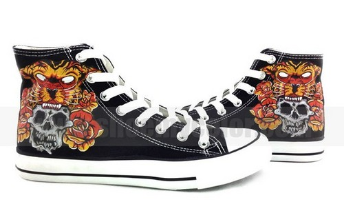 Blessthefall hand painted sneakers