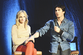BloodyNightCon Europe (May 11, 2013) - ian-somerhalder-and-candice-accola photo