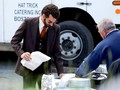 Bradley Cooper Films 'American Hustle' in Boston - bradley-cooper photo