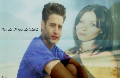 Brandon & Brenda Walsh
