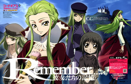 Code Geass wallpaper with Anime called C.C.