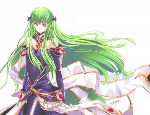 Code Geass karatasi la kupamba ukuta probably with a bouquet entitled CC