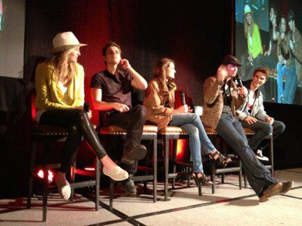 Candice at Bloody Night Con Европа - Brussels (May 2013)