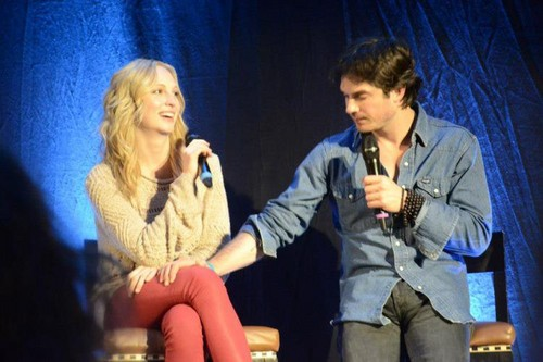 Candice at Bloody Night Con Châu Âu - Brussels (May 2013)