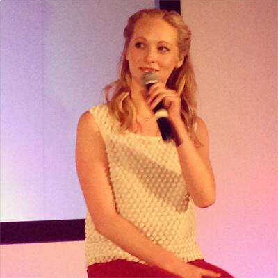Candice at BloodyNightCon 3 in Barcelona (May 2013)