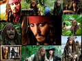 Captain Jack Sparrow - johnny-depps-movie-characters fan art