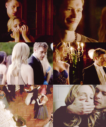 Caroline: Just to be clear, I'm too smart to be seduced kwa you. Klaus: That's why I like you.