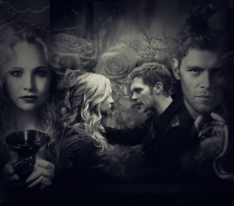 Caroline & Klaus - The Vampire Diaries TV Show Photo ...