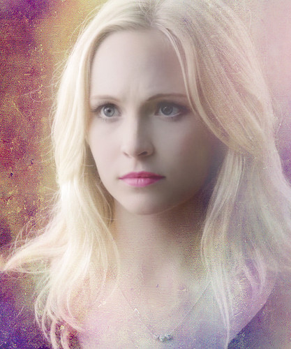 Caroline Forbes wallpaper possibly containing a portrait entitled Caroline